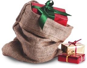Christmas Gift Sack Image