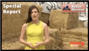 PRIME 7 NEWS REPORTS ON THE DROUGHT & AUSSIE HELPERS