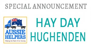 UPCOMING HAY DAY – HUGHENDEN SUN 18/5 – N/W/QLD