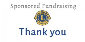 LIONS FUNDRAISING UPDATE – 1 JUNE 2014