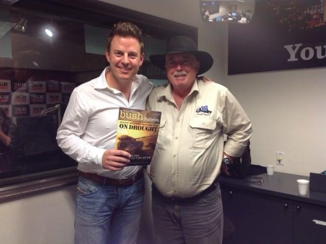 Ben Fordham 2GB and Brian Egan of Aussie Helpers