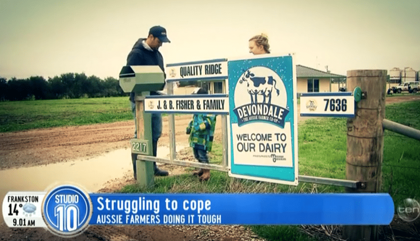 bec_and_jayke_fisher_dairy_farmers_for_Aussie_Helpers_charity