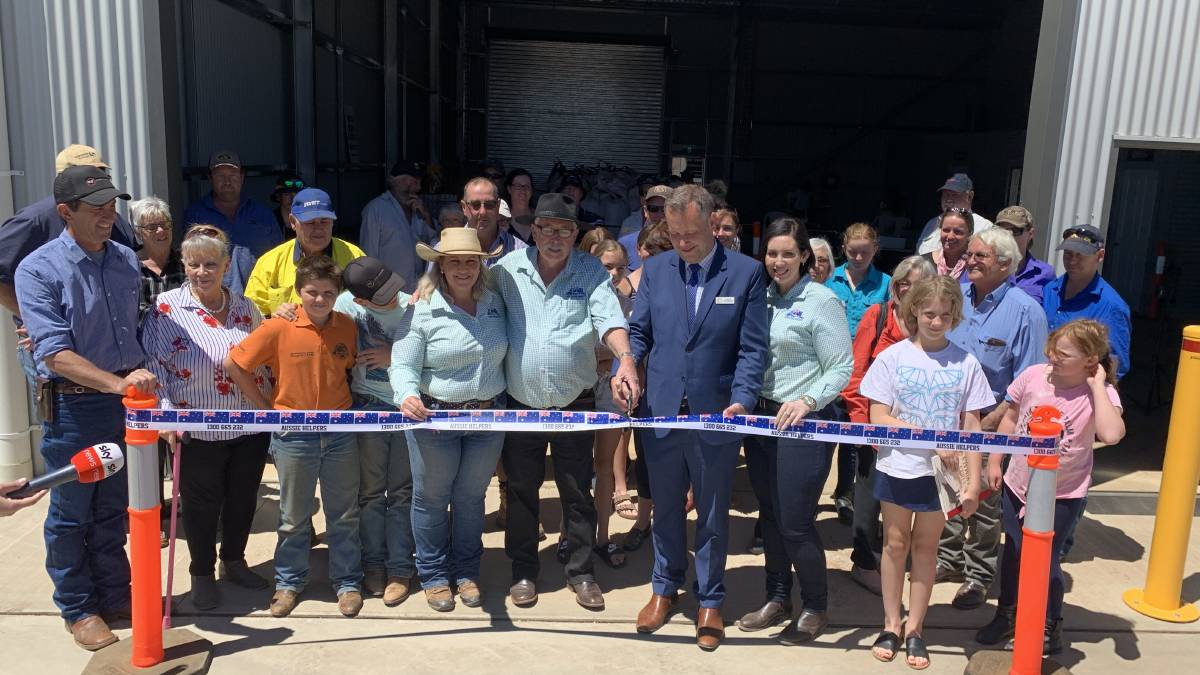 MEDIA: DAILY LIBERAL 4/12/19 – Dubbo Mayor attends opening of new Aussie Helpers Dubbo Depot