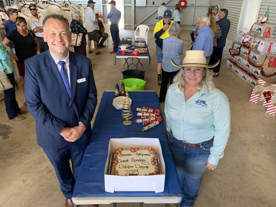 MEDIA:  10/12/19 DAILY LIBERAL:  Official opening of the Aussie Helpers Dubbo Depot