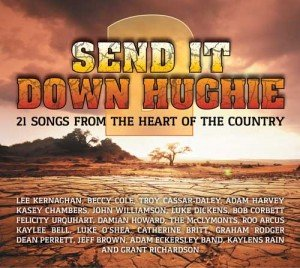 Image of CD – Send it Down Hughie 2 (Aussie country music compilation)