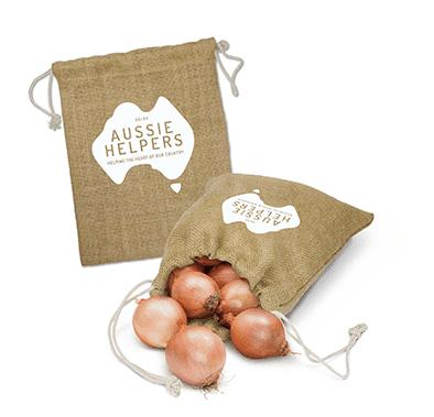 Image of Jute produce bags