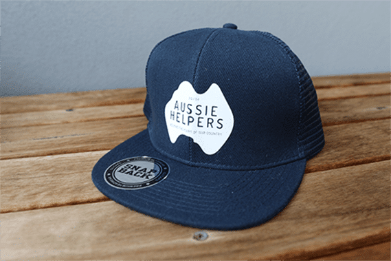 Image of Trucker cap – Flat Peak Trucker