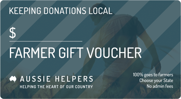 "Image of QLD ""Voucher For A Farmer"" (Gift Card)"